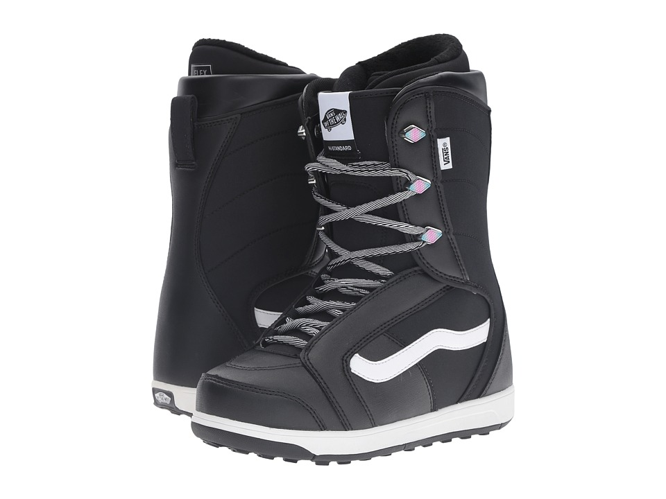 Vans - Hi-Standard '17 (Black/White) Women's Cold Weather Boots