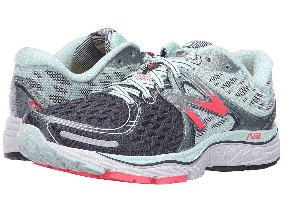 New Balance - 1260v6 (Droplet/Guava/Grove) Women's Running Shoes