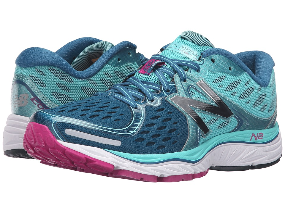 New Balance - 1260v6 (Castaway/Aquarius) Women's Running Shoes