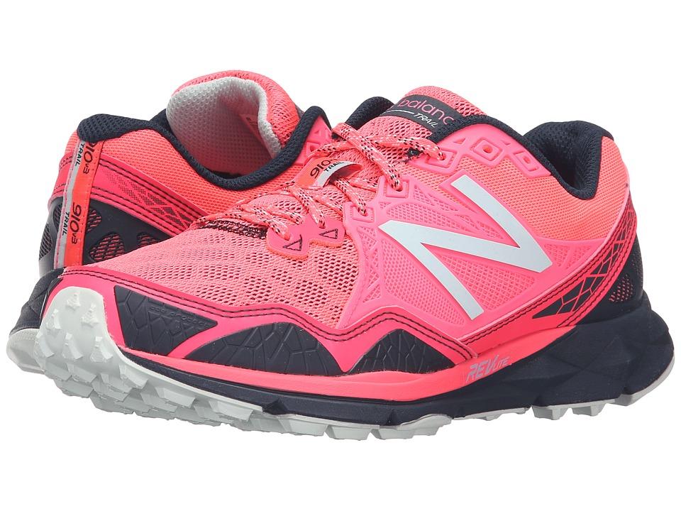 New Balance - T910v3 (Pink/Grey) Women's Running Shoes