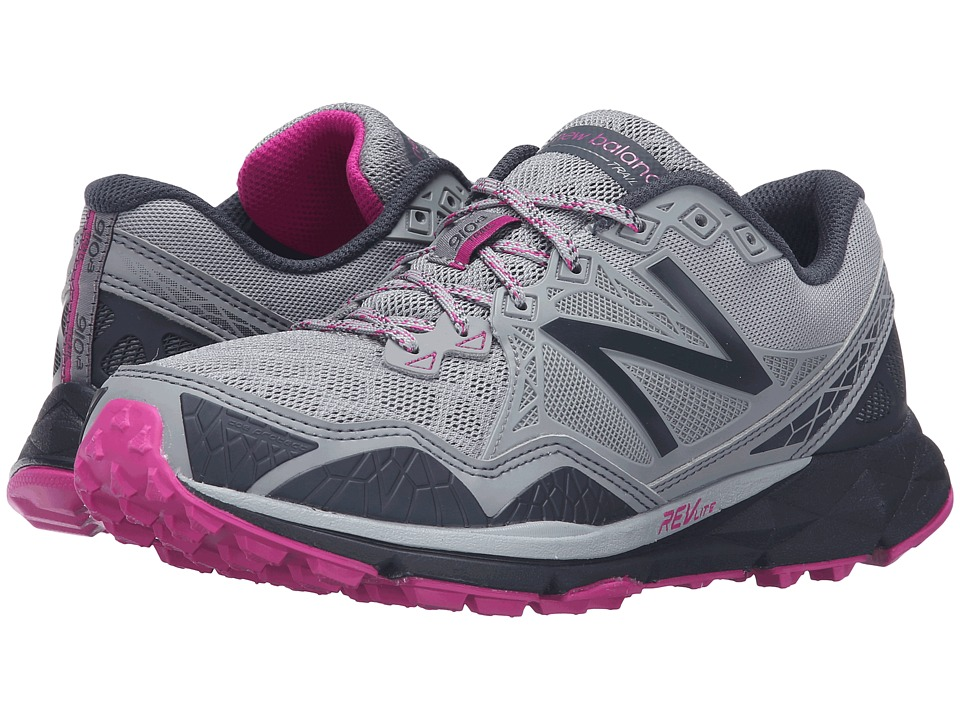 New Balance - T910v3 (Grey/Purple) Women's Running Shoes