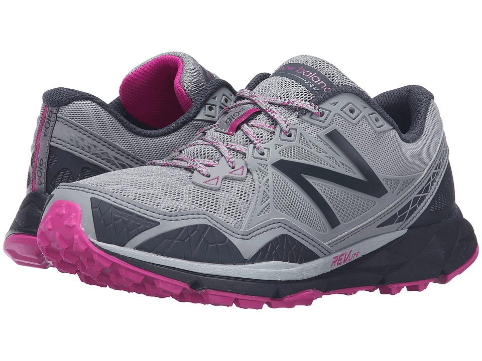New Balance - T910v3 (Grey/Purple) Women's Running Shoes