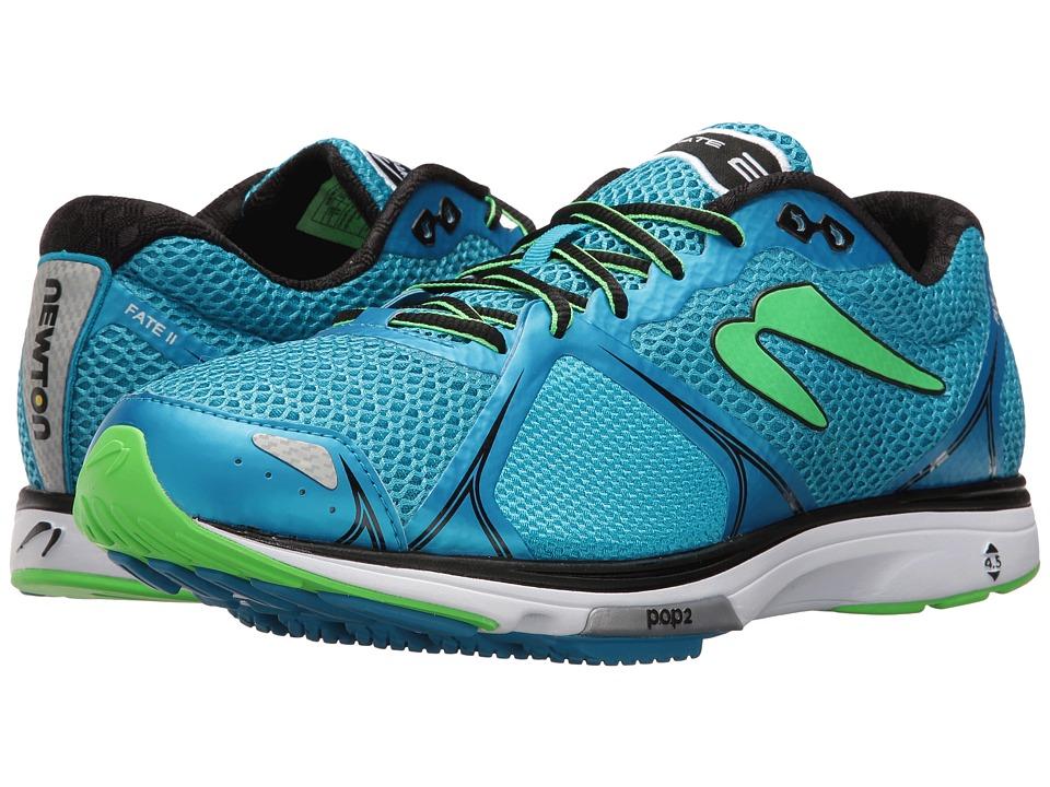 Newton Running - Fate II (Blue/Green) Men's Running Shoes