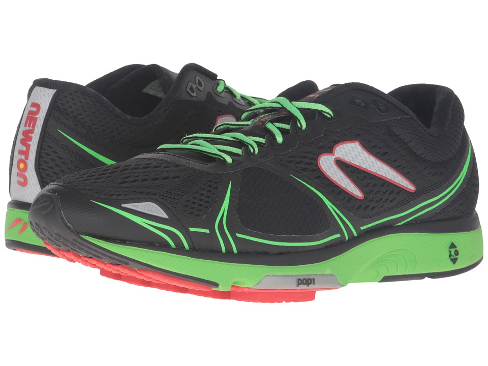 Newton Running - Motion V (Black/Green) Men's Running Shoes