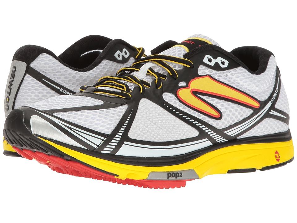 Newton Running - Kismet II (White/Yellow) Men's Running Shoes