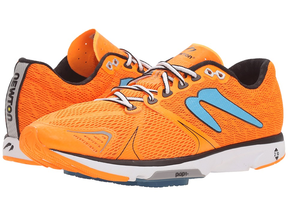 Newton Running - Distance V (Orange/Blue) Men's Running Shoes
