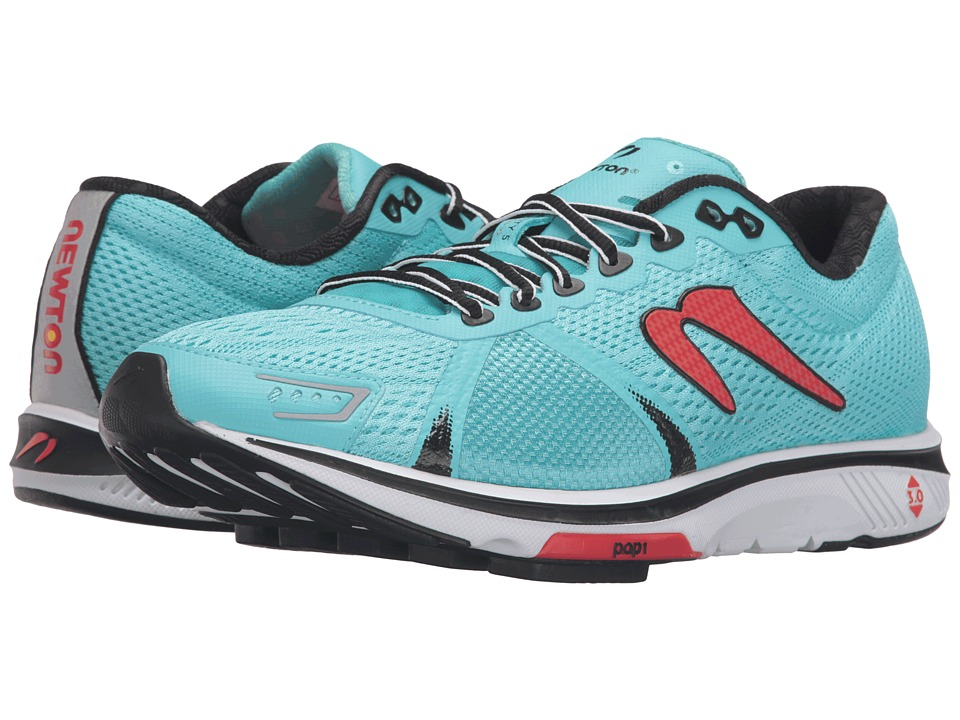 Newton Running - Gravity V (Sky Blue/Red) Men's Running Shoes
