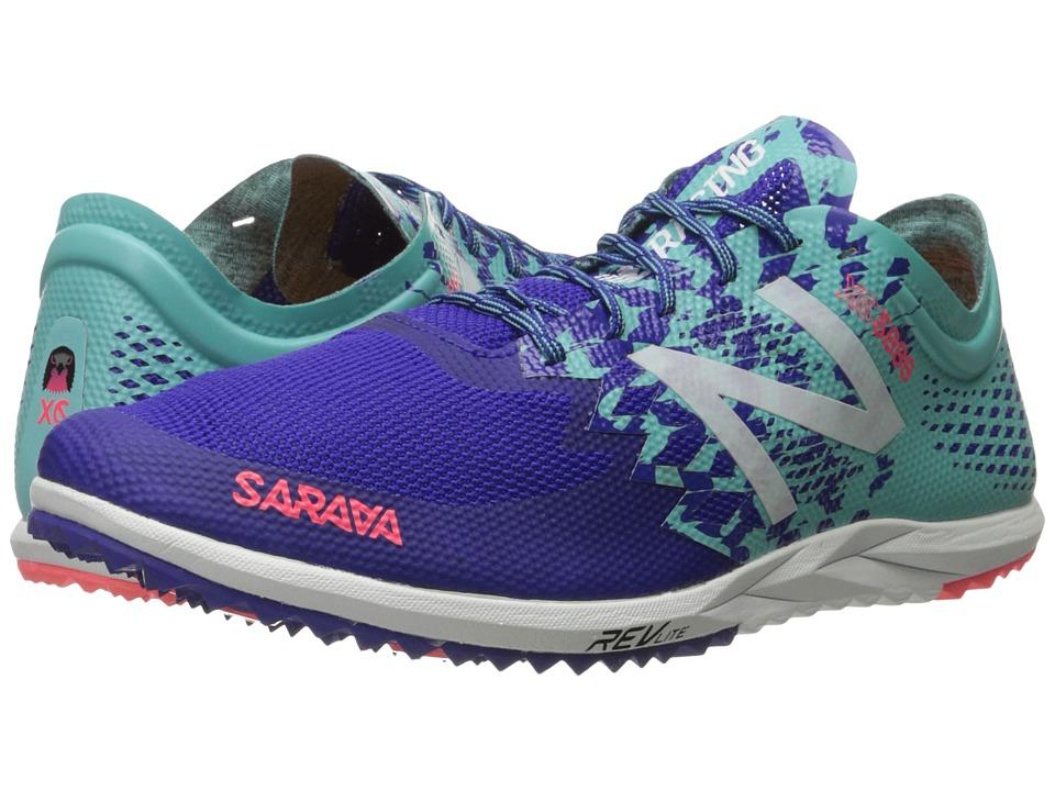 New Balance - WXC5000v3 (Blue/Green) Women's Running Shoes