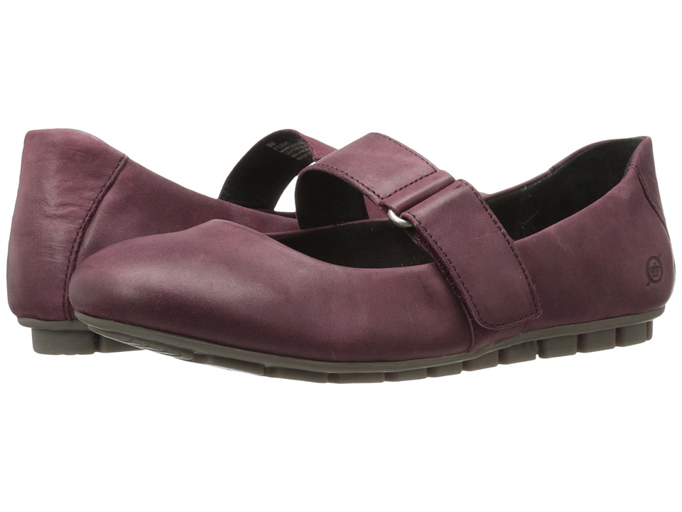 Born Malli (Wine Full Grain Leather) Women