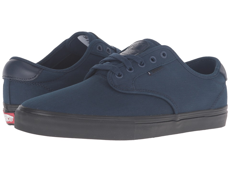 Vans - Chima Pro ((Mono) Dress Blues 1) Men's Skate Shoes