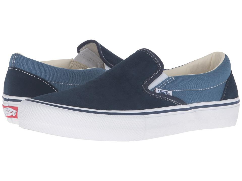 Vans Slip-On Pro ((Two-Tone) Navy/STV Navy) Men