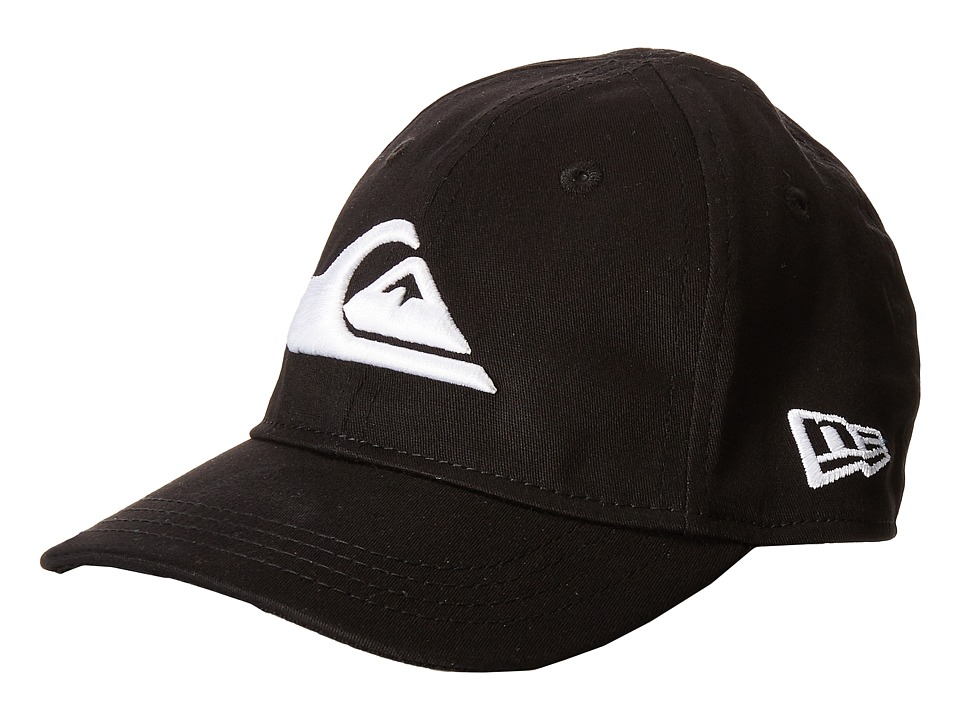 Quiksilver - Mountain Wave Black Hat (Infant/Toddler) (White) Caps