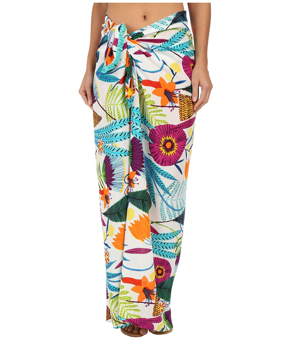 Echo Design - Tropicalia Floral Pareo (Multi) Scarves
