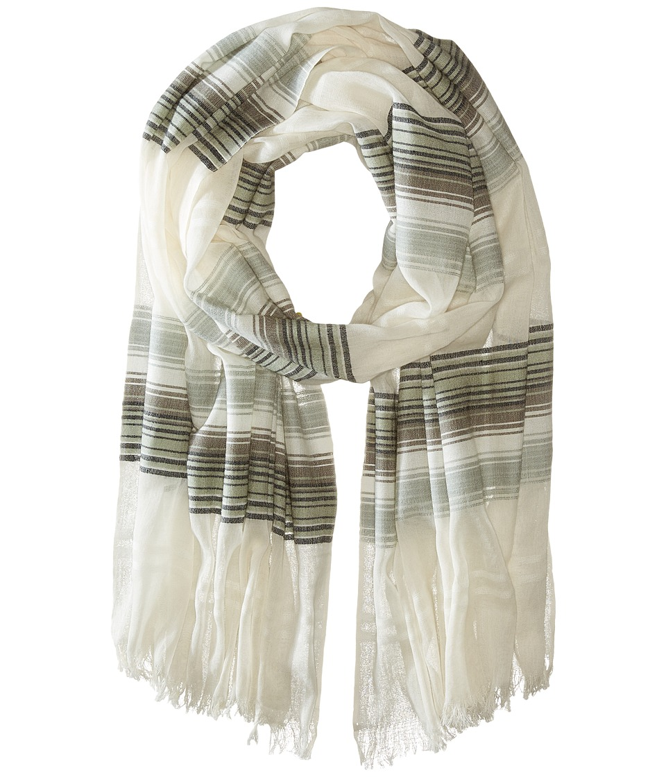 Echo Design - Island Stripe Wrap (Black) Scarves