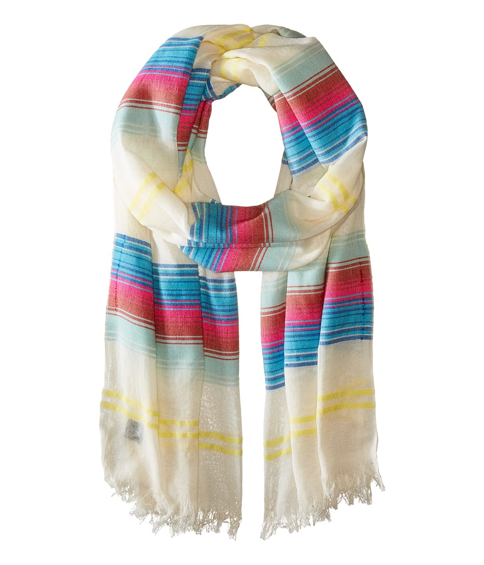 Echo Design - Island Stripe Wrap (Multi) Scarves