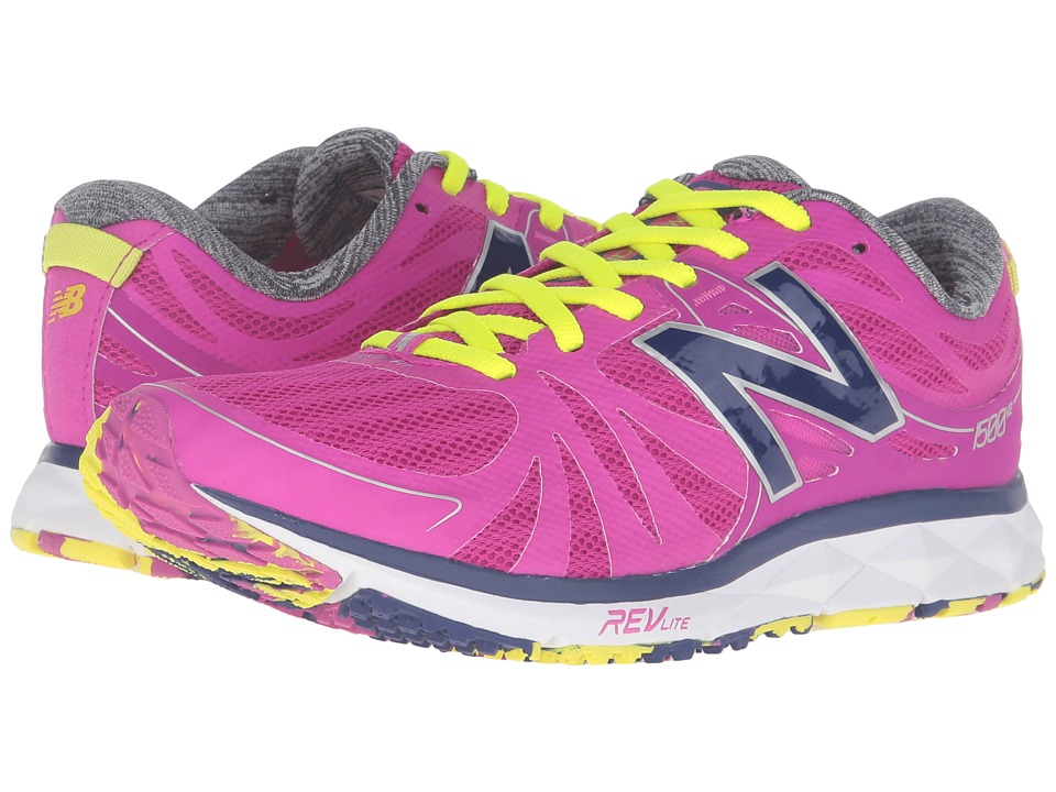 New Balance - 1500v2 (Pink/White) Women's Running Shoes