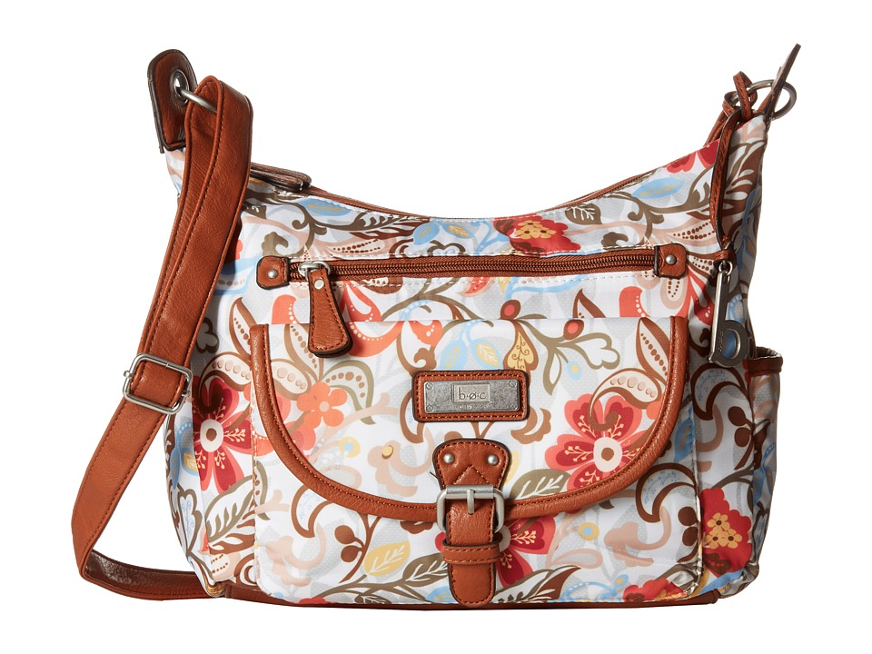 b.o.c. - Primavera Crossbody Hobo (Flower) Cross Body Handbags