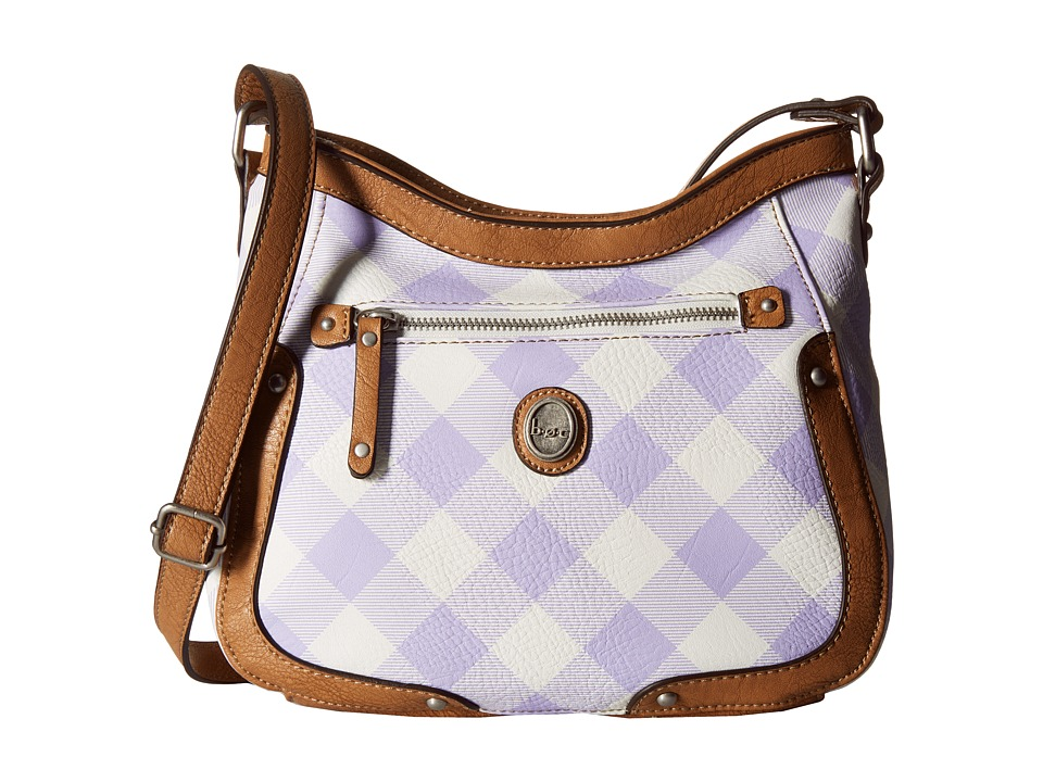 b.o.c. - Manor Heights Scoop Crossbody (Purple) Cross Body Handbags