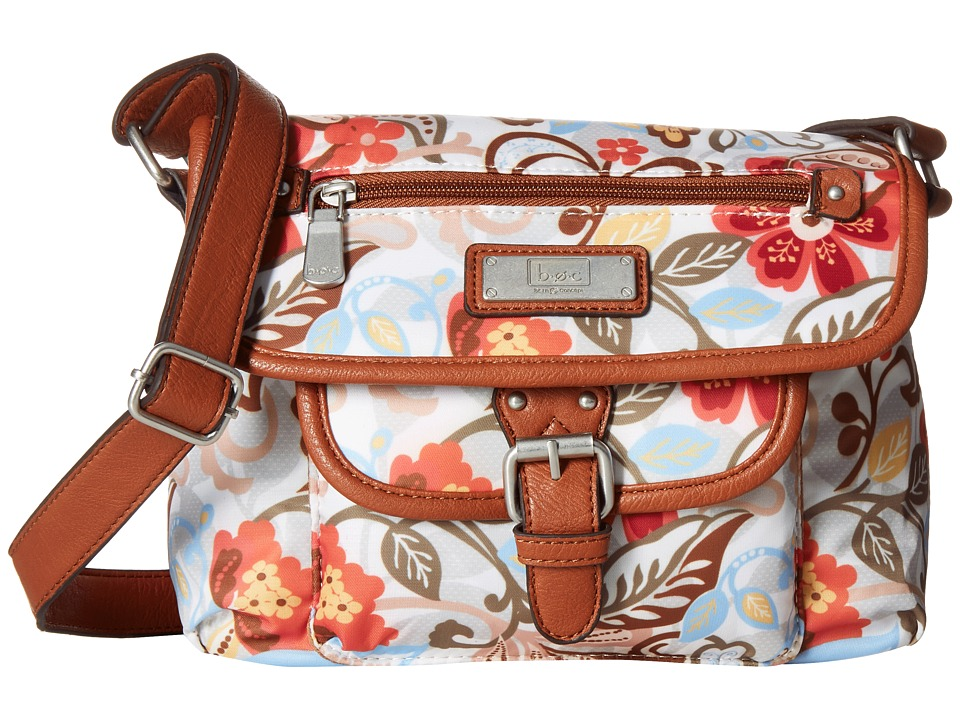 b.o.c. - Primavera East/West Flap Crossbody (Flower) Cross Body Handbags