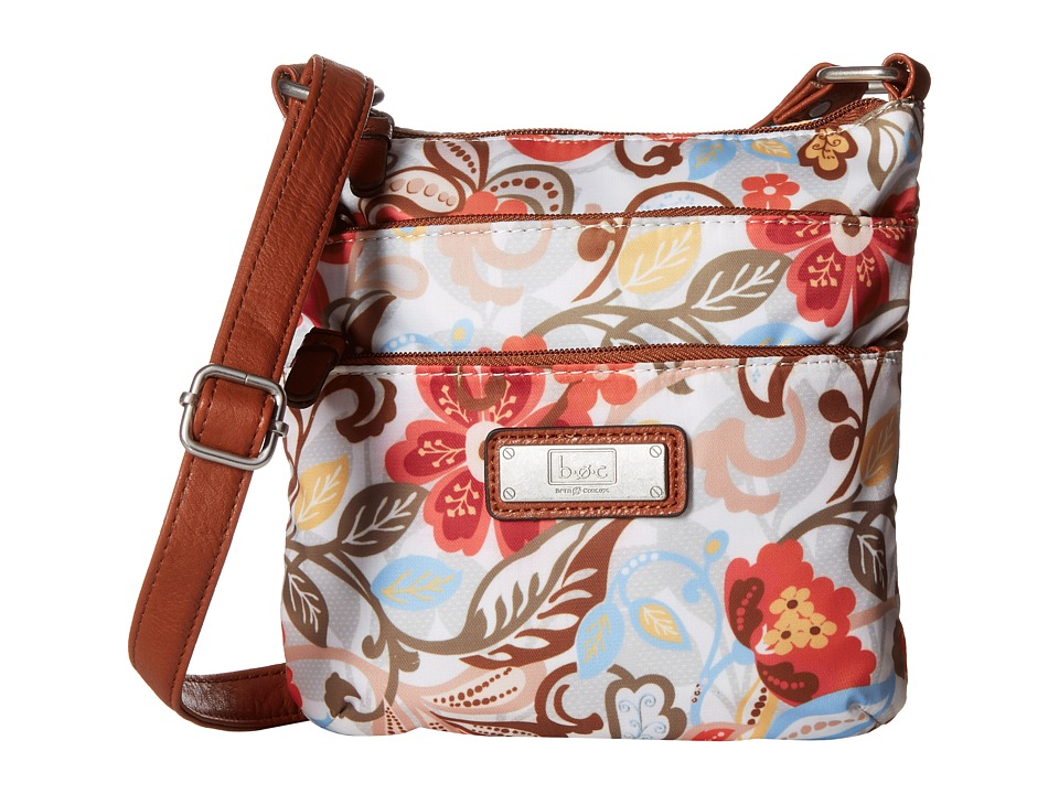 b.o.c. - Primavera Top Zip Crossbody (Flower) Cross Body Handbags