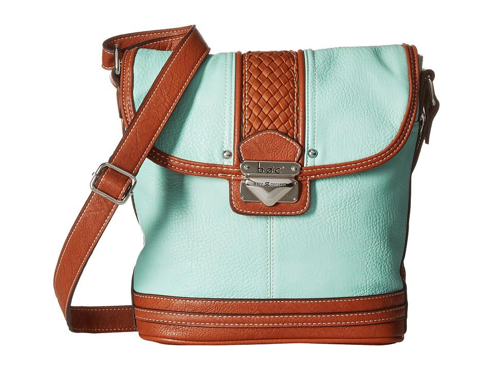 b.o.c. - Hadley Large North/South Crossbody (Mint) Cross Body Handbags