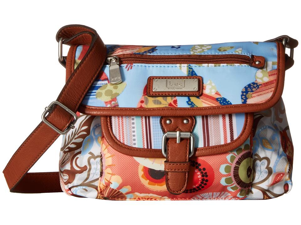 b.o.c. - Primavera East/West Flap Crossbody (Multi) Cross Body Handbags