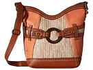 Nayarit Straw Tulip Crossbody