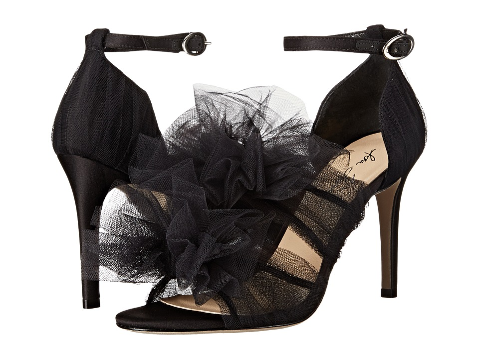 Isa Tapia - Gigi (Black Tulle) Women's Shoes