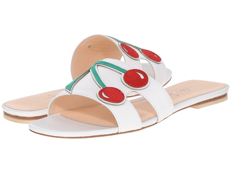 Isa Tapia - Mya (White Nappa/Cherry) Women