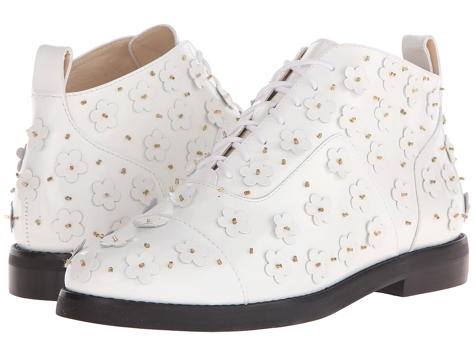 Isa Tapia - Winston (White Leather) Women's Shoes