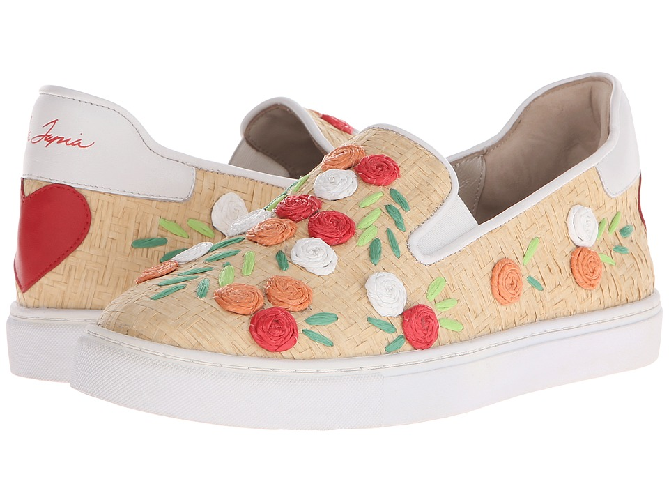 Isa Tapia - Frida (Natural Raffia) Women's Shoes