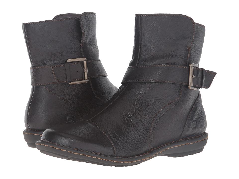 Born - Cove (Espresso Full Grain Leather) Women's Shoes
