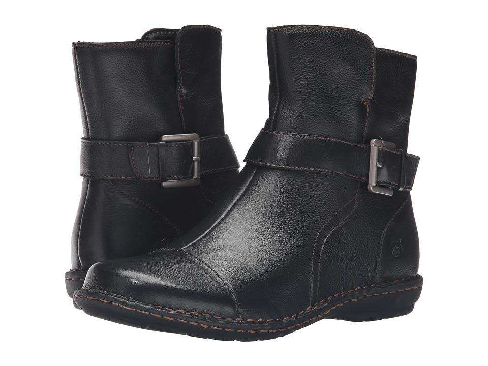 Born - Cove (Black Full Grain Leather) Women's Shoes