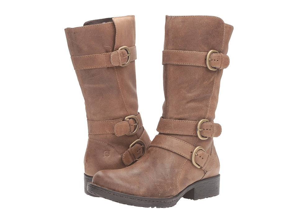 Born Croft (Taupe Full Grain Leather) Women