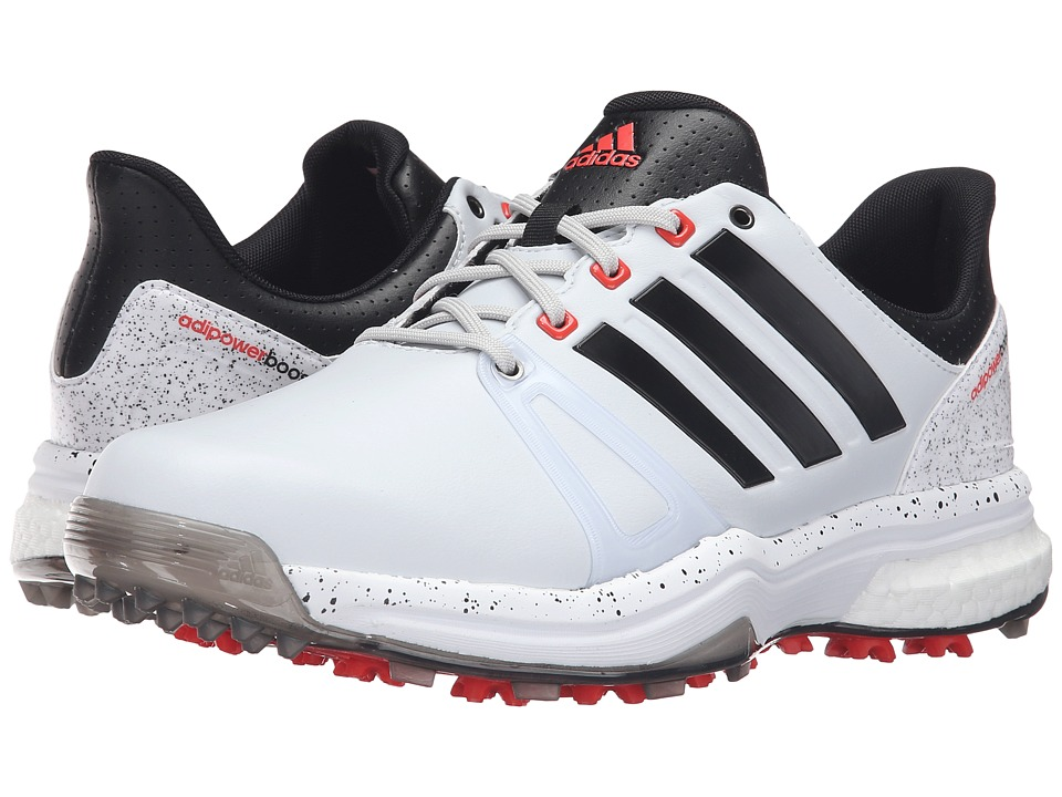 adidas Golf - Adipower Boost 2 (Clear Grey/Black/Ftwr White) Men's Golf Shoes
