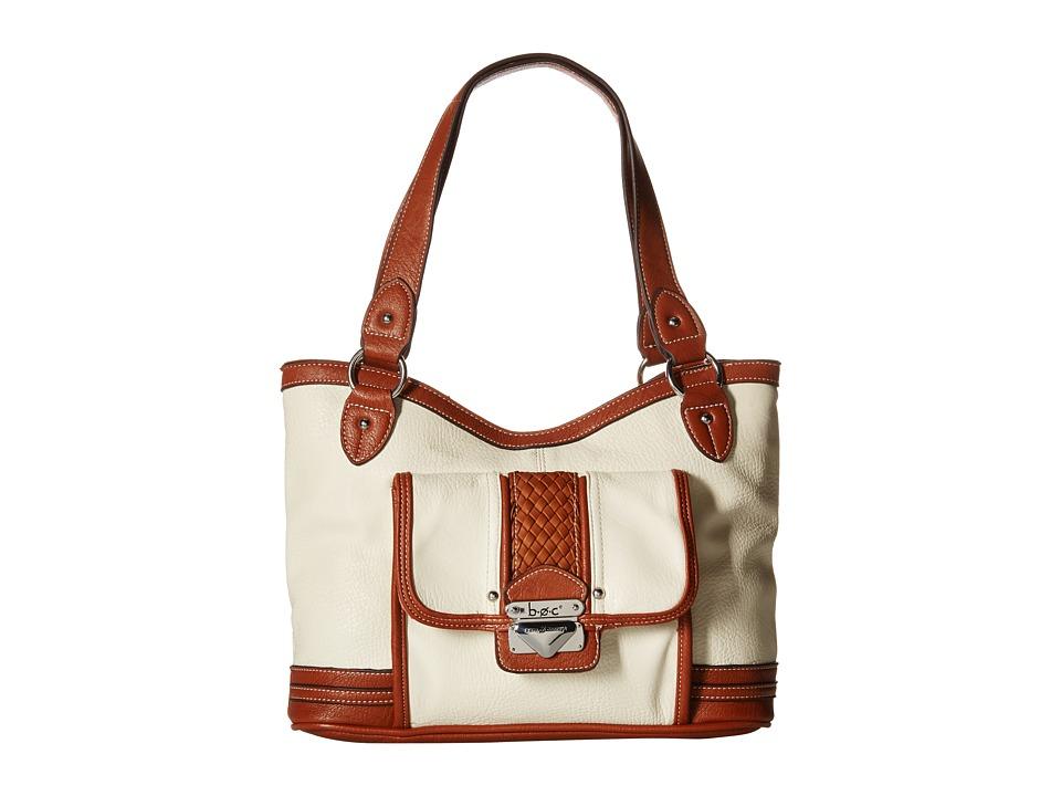 b.o.c. - Hadley Large Shopper Tote (Bone) Tote Handbags
