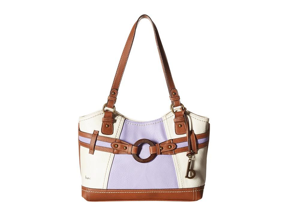 b.o.c. - Nayarit Color Block Scoop Tote (Purple) Tote Handbags
