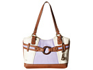 Nayarit Color Block Scoop Tote