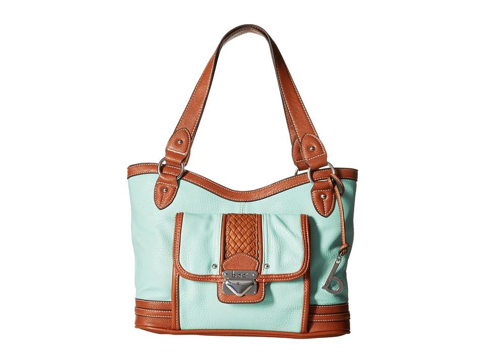 b.o.c. - Hadley Large Shopper Tote (Mint) Tote Handbags