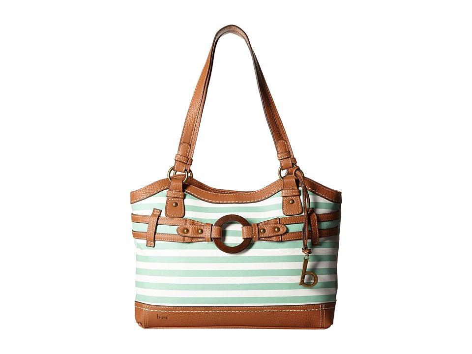 b.o.c. - Nayarit Tote Stripe (Mint) Tote Handbags