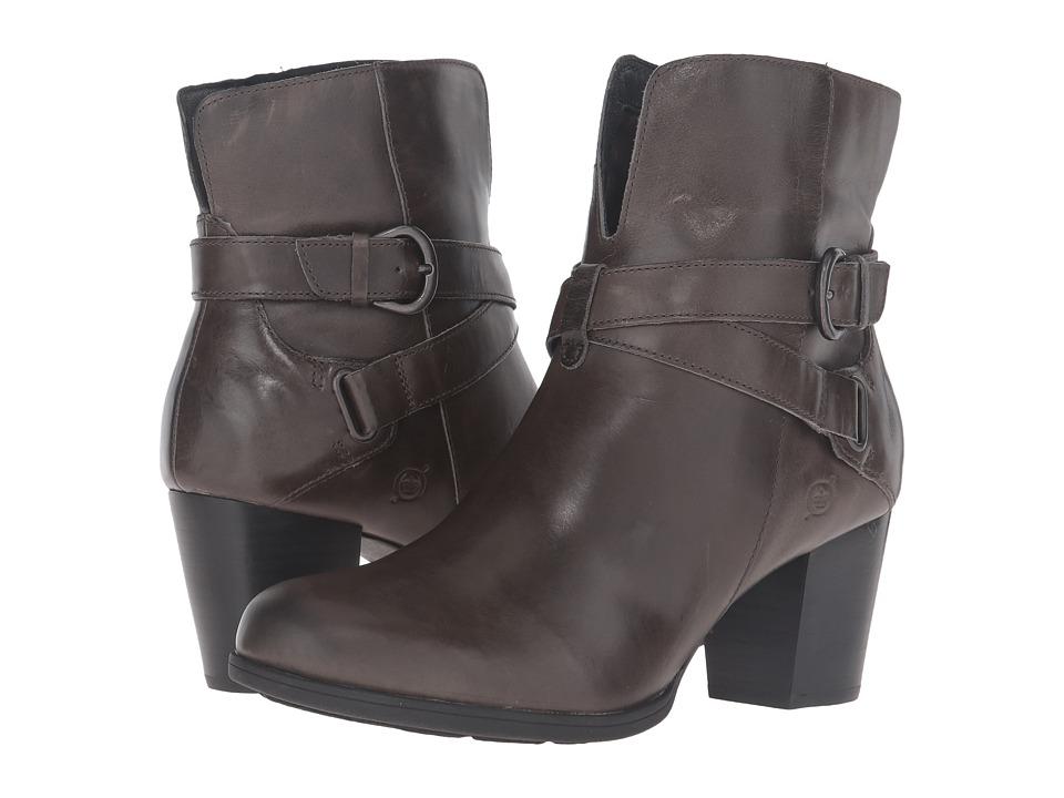 Born - Guzan (Grey Full Grain Leather) Women's Shoes