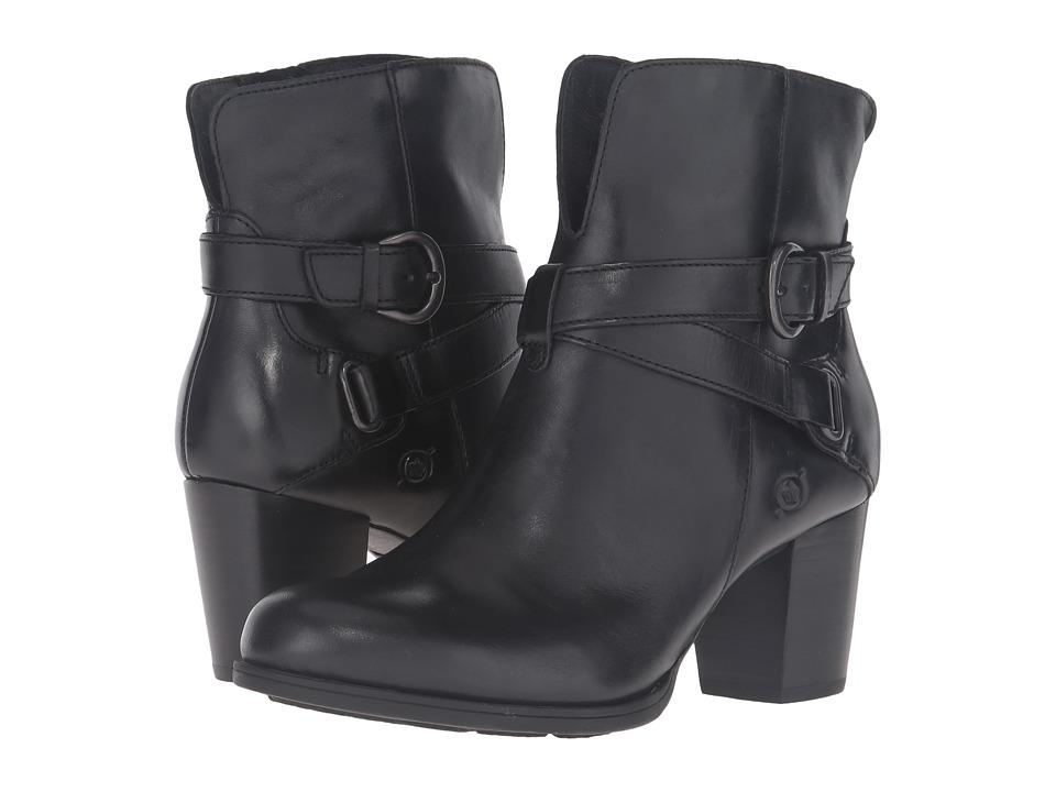 Born - Guzan (Black Full Grain Leather) Women's Shoes