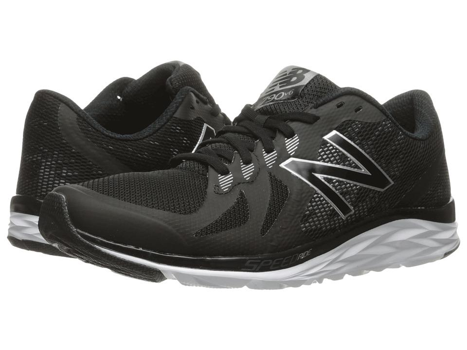 New Balance 790v6 (Black/Silver) Men's Running Shoes