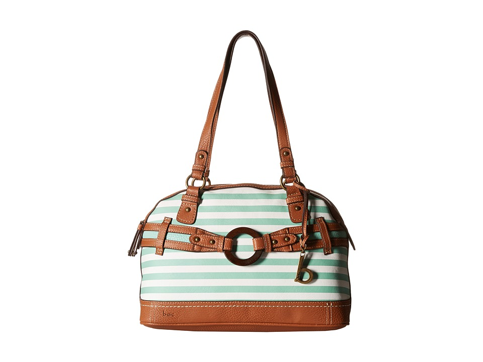 b.o.c. - Nayarit Satchel Stripe (Mint) Shoulder Handbags