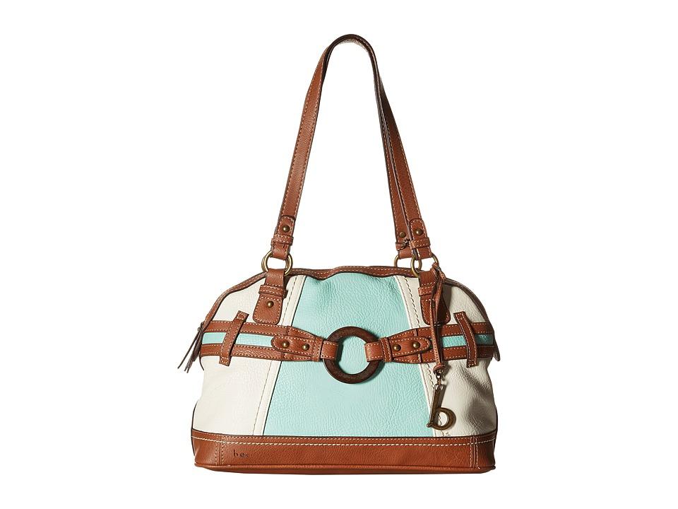 b.o.c. - Nayarit Color Block Satchel (Mint) Satchel Handbags