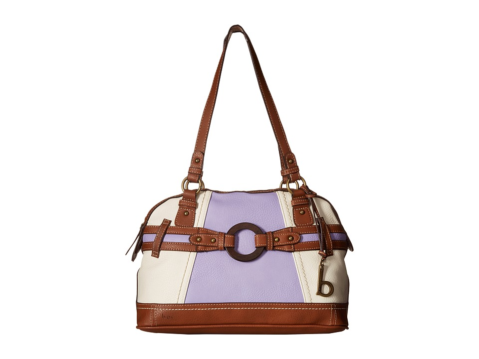b.o.c. - Nayarit Color Block Satchel (Purple) Satchel Handbags