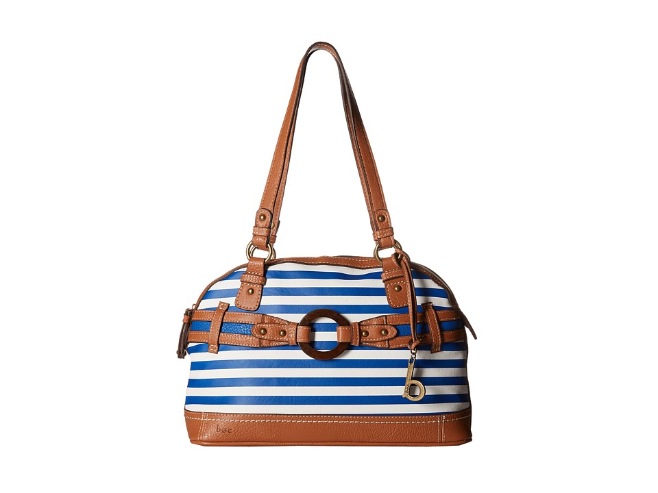 b.o.c. - Nayarit Satchel Stripe (Marine) Shoulder Handbags