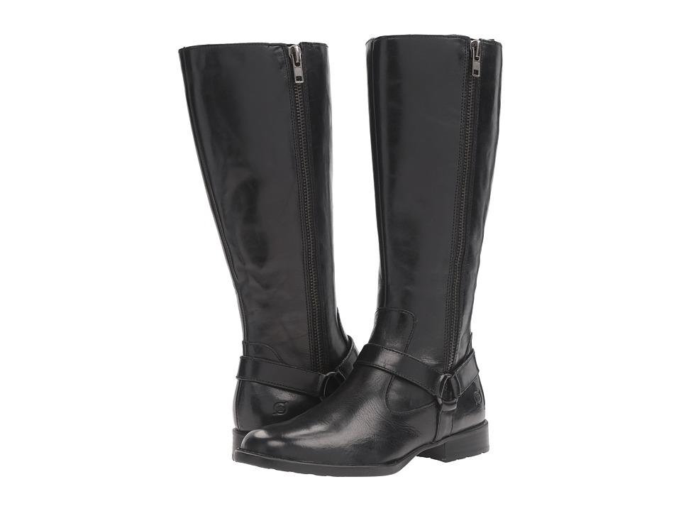 Born - Delall (Black Full Grain Leather) Women's Shoes