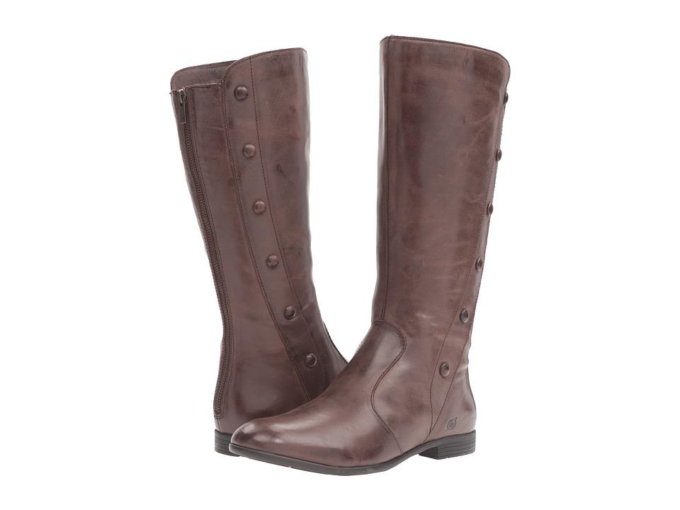 Born - Britt (Espresso Full Grain Leather) Women's Shoes