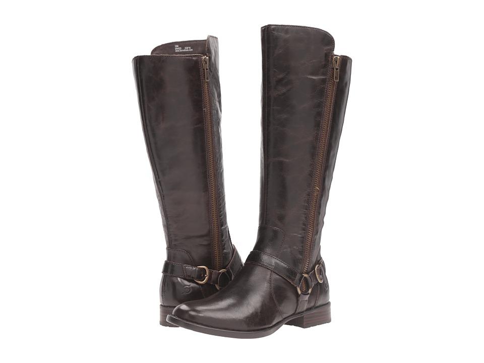 Born - Hagene (Mushroom Full Grain Leather) Women's Shoes
